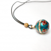 Mexican Bola Necklace bell TheCharmerCharms F1