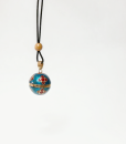 Mexican Bola Necklace bell TheCharmerCharms F2