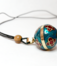 Mexican Bola Necklace bell TheCharmerCharms F3