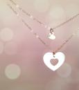 מתנה לאמא שרשרת לב מתנה לאמא ליום הולדת the charmer 1