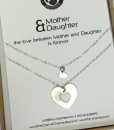 מתנה לאמא שרשרת לב מתנה לאמא ליום הולדת the charmer  (3)