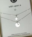 מתנה לאמא שרשרת כוכב מכסף מתנה לאמא ליום הולדת the charmer (4)