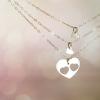 רעיון למתנה לאמא שרשרת לבבות מכסף מתנה לאמא ליום הולדת the char (3)
