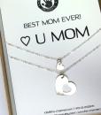 רעיון למתנה לאמא שרשרת לב מתנה לאמא ליום הולדת the charmer (1)