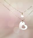 רעיון למתנה לאמא שרשרת לב מתנה לאמא ליום הולדת the charmer (2)
